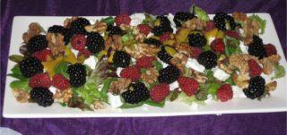 salade met bramen