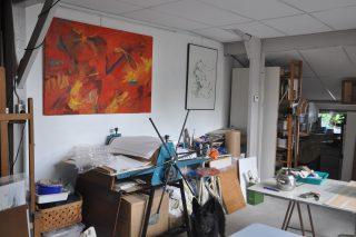 Open atelier en tuin Herma van Wijk