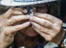 Open atelier en tuin Geartsje Dupon