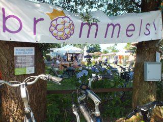 Brommelsfeest bij Bloemenparadyske