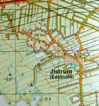 Drone beelden landschap Jistrum