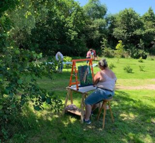Workshop bloemen/landschap schilderen